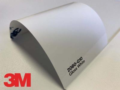 3M™ Wrap Film 2080-G10, Gloss White, 1,524 * 22,86