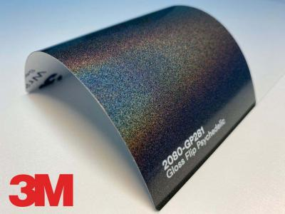 3M™ Wrap Film Series 2080-GP281, Gloss Flip Psychedelic,1,524*22,86