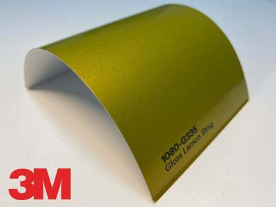 3M™ Wrap Film Series 1080-G335, Gloss Lemon Sting, 1,524*22,86