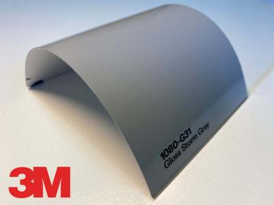 3M™ Wrap Film Series 1080-G31, Gloss Storm Gray, 1,524*22,86