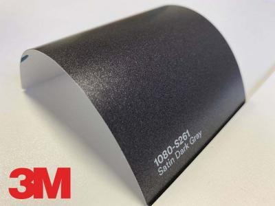 3M™ Wrap Film Series 2080-S261, Satin Dark Gray, 1,524*22,86