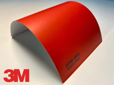 3M™ Wrap Film 2080-M13, Matte Red, 60 in x 25 yd