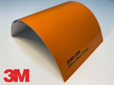 3M™ Wrap Film 2080-G24, Gloss Deep Orange, 60 in x 25 yd