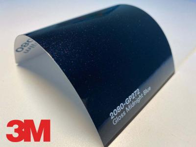 3M™ Wrap Film Series 2080-GP272, Gloss Midnight Blue, 60 in x 25 yd