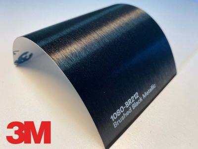 3M™ Wrap Film Series 1080-BR212, Brushed Black Metallic, 60 in x 25 yd