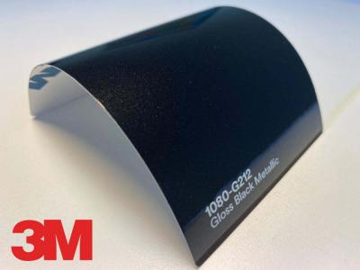 3M™ Wrap Film Series 1080-G212, Gloss Black Metallic, 60 in x 25 yd