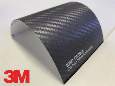3M™ Wrap Film Series 1080-CFS201, Carbon Fiber Anthracite, 60 in x 25 yd