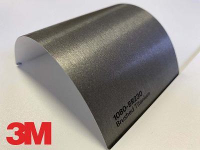 3M™ Wrap Film Series 1080-BR230, Brushed Titanium, 60 in x 25 yd