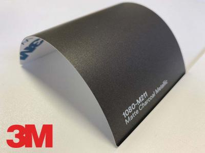 3M™ Wrap Film Series 1080-M211, Matte Charcoal Metallic, 60 in x 25 yd