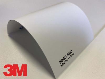 3M™ Wrap Film 2080-M10, Matte White, 60 in x 25 yd