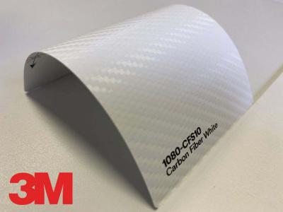 3M™ Wrap Film 1080-CFS10, Carbon Fiber White, 60 in x 25 yd