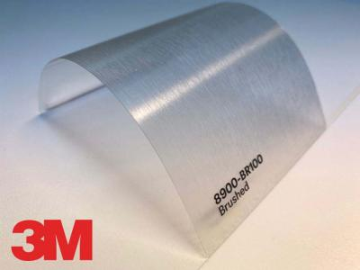 3M™ Wrap Overlaminate 8900-BR100, Brushed, 60 in x 25 yd, 1 Roll/Case