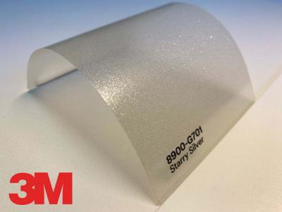 3M™ Wrap Overlaminate 8900-S701, Satin Frosty Silver, 60 in x 25 yd, 1 Roll/Case