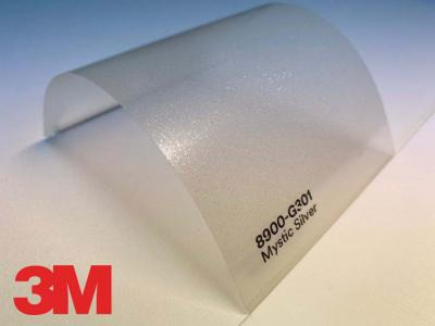 3M™ Wrap Overlaminate 8900-G301, Gloss Mystic Silver, 60 in x 25 yd, 1 Roll/Case