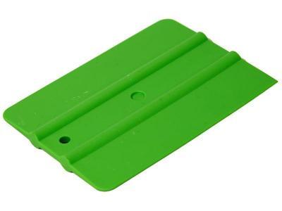 Ракель простой мягкий зеленый 4'' (100 x 75 мм) серия WRAP