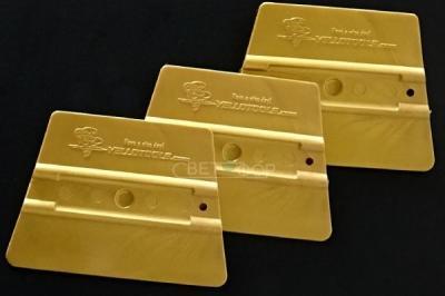 Ракель YT ProWrap, жесткость 72, золотой, 95 х 70 мм