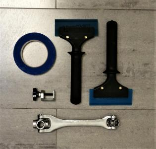 Сумка-Набор инструментов для оклейки авто BRAY