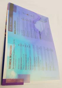Пленка дихроическая AVRORA WINTER 1,37м.  для стекла